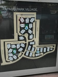 Papago Park Village Map