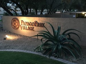 Papago Park Village in Tempe, AZ - Entrance